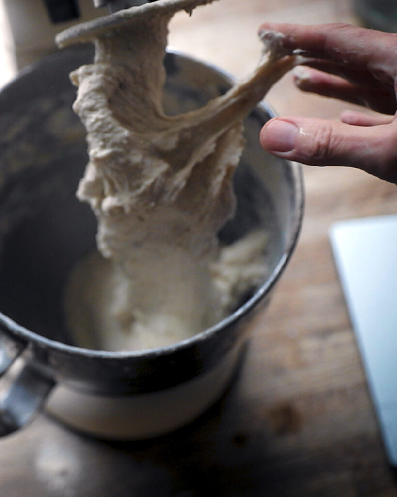 Sourdough baking Chef Martino