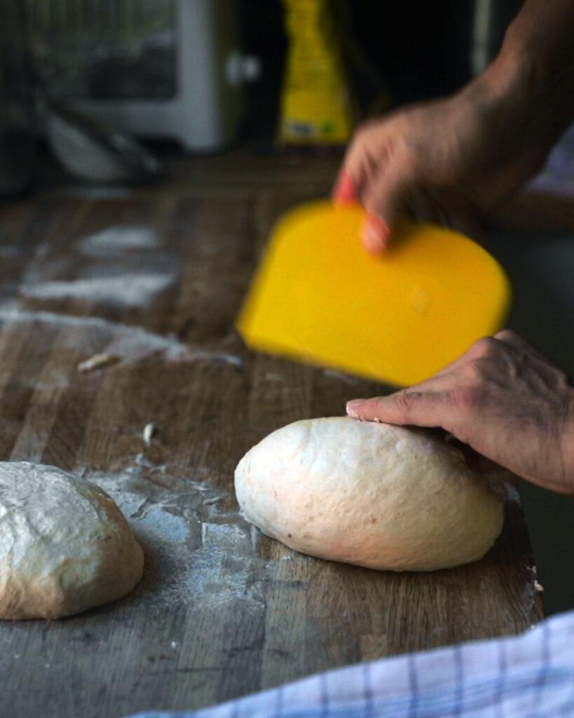 Stretch and Fold the Dough Chef Martino